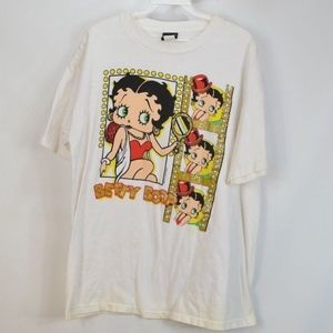 90s Betty Boop Mens Large Short Sleeve T Shirt
